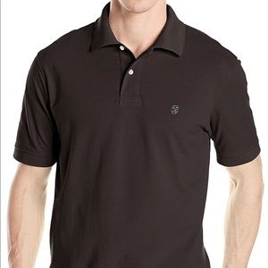 IZOD Men's Heritage Short Sleeve Solid Pique Polo